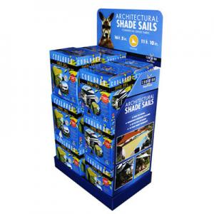 China Printed Floor Display Box for stuff promotion on sale