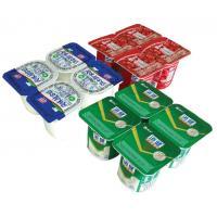 Yogurt Cup Easy Peel Lid Film / Lidding Film In Roll With Strong Sealing