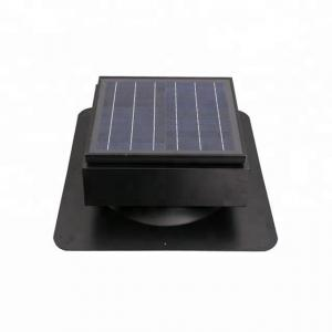 China Weather Resistance Solar Vent Fan 15w Roof Mounted With Steel Body Material on sale