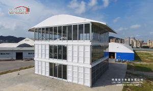 China Three Floor Outdoor Event Tents , Triple Deck Tent for Commercial Shop and Office on sale
