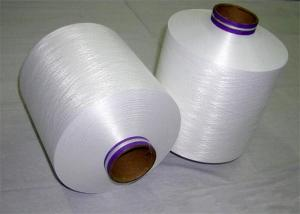China Raw White / Dyed 100% Polyester DTY Yarn Filament 150D/48F For Sewing on sale