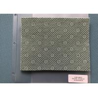 China PP Jade Green Needle Punched Non Woven Material 520gsm + 25gsm on sale