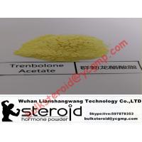 China Trenbolone Acetate (Tren A) Finaplix Raw Steroid Powders 99% Yellow Purity on sale