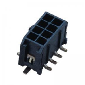 China Wafer Connector Wire To Board 3.00mm Dual Row SMT With Latch Speaker on sale