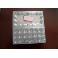 Food Grade Disposable Plastic Egg Boxes 18 Cells Capacity Without Cracking And Crashing
