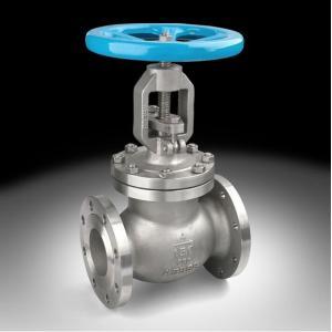 China Cast steel flange globe valve on sale