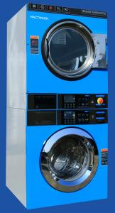 China Chinese Unique 12kgs Direct Drive Commercial STACK washer dryer/Chinese Best Stack Washer Dryer on sale