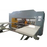 Double Servo Two Piece Carton Box Stitching Machine Touch Screen Operated