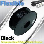 1.75mm / 3.0mm 3D Printing Rubber Filament Flexible Material Tasteless And Odorless
