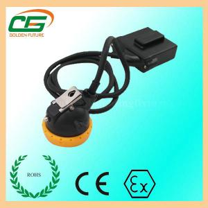 China Mini 3.7 V LED Mining Cap Lamp 6.5Ah 10000 Lux With Low Power Indication on sale