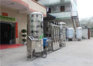 China Sea Water, Salt Water, Brackish Water Processing And Water Desalination RO Plant on sale