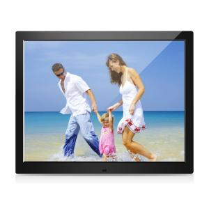 China 15 Inch  Digital Photo Frames , USB LCD Picture Frames With Automatic Slide Show on sale