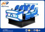 simulador del diseño VR del vehículo espacial de los asientos de la plataforma 6 del DOF del cine 6 de la realidad virtual 9D