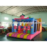 Giant Outdoor Inflatable Games / Inflatable Funland For Kids Amusement Sports