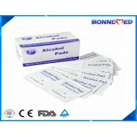 China BM-7016 Hot Sale Surgical Use Skin Care Non-Woven 70% Isopropyl Cleaning Disposable 6.5*3cm Alcohol Swab on sale