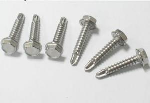 China metric Stainless steel hexagon head bolts, stainless steel screws on sale
