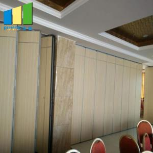 China Ballroom Sound Proof MDF Board Acoustic Movable Partition Walls on sale