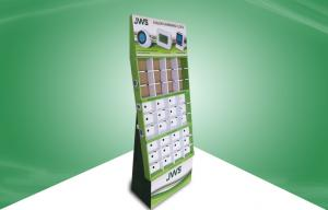 China 36 Cell Cardboard Display Stands Selling Clock , corrugated pop displays on sale