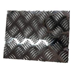 China Machine / Vehicle Flooring Aluminium Checker Plate Aluminum Pattern Embossed Sheet on sale