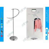 Metal Spiral Clothing Garment Display Racks With 29 Ball , Hanging Clothes Rack