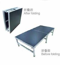 China Aluminum portable folding stage on sale