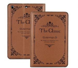 China iPad Air 5 Case Cover Brown Trendy The Classic Vintage Book Style Smart StandiPad Air 5 Ca on sale