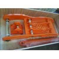 High Strength Steel Excavator Grapple Bucket , Excavator Thumb Fit PC120 SK135 EX140 ZX140