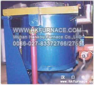 China Tipping Crucible Rapid Aluminium Melting Furnace(Patent:200520096580.50) on sale