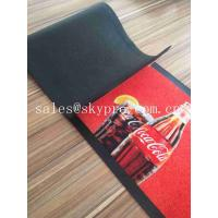 Colorful Molded Rubber Products Home Pub Bar Mat , Personalized Beer Drip Kitchen Rubber Mats