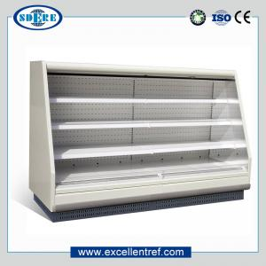 China Semi multideck refrigerator showcase for supermakret on sale