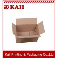 China Recycled Offset paper / Art Paper Corrugated Packaging Box / Craft Corrugated Paper Box With Many Size on sale