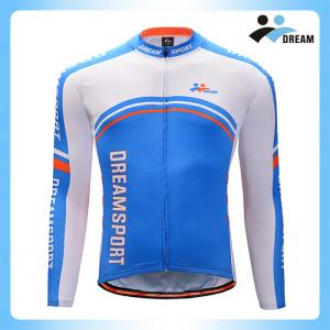 China China supplier  wholesale quick dry  custom men/women long sleeve winter cycling jersey wear apparel on sale