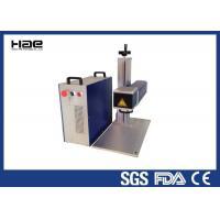 Logo And Ring Cnc metal laser engraving machine , laser marking printer