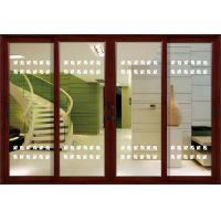 1.4mm profile thickness white, red wood aluminum sliding glass doors for residential