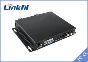China DC 12V video audio transmitter and receiver / COFDM Receiver BNC Audio Output on sale