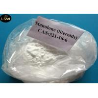 High Purity White Stanolone / Androstanolone Raw Steroid Powders CAS 521-18-6