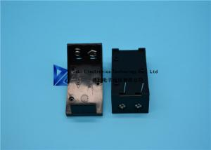China 5.5 * 2.1mm Other Electronic Components , Single Slots 9v Battery Holder / Box on sale
