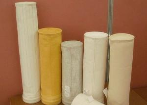 China Dust collector filter bags high temperature  washable Polyester Filter Media on sale
