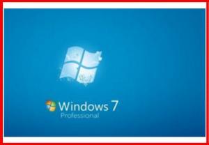 China Original Windows 7 pro Product Key Code OEM COA key 64 bit / 32 bit  SP1 english Version on sale