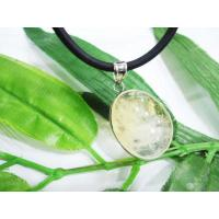 Yellow Agate Pendant, Lemon Jade Pendant Handmade Jewellery OEM