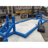 China Customzied Inflatable Sports Games , Ultimate Sports Arena Inflatable Football Field on sale