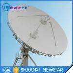 7.3m ku band ring focus telecommunication vsat equipment antenna