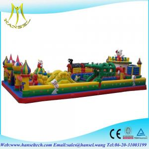 China Hansel terrfic indoor childrens fun centers for sale on sale