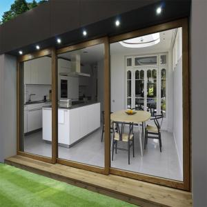 China Glazing Interior Soundproof Cubicle Glass Sliding Doors on sale