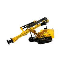 China JK590 Crawler Mounted Hydraulic DTH Drilling Rig on sale