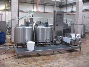 China Full Auto Yogurt Production Equipment , CE Dairy Manufacturing Equipment on sale