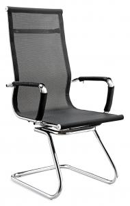 China Comfy  Office Meeting Chairs , High Back Mesh Computer Chair With Arms on sale