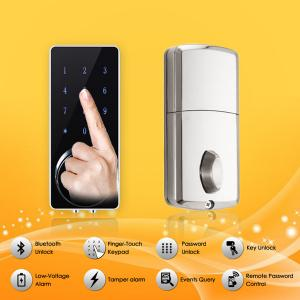 China Bluetooth Full Smart Home System Finger Touch Keypad Password Door Lock on sale