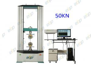 China 50KN Servo Control Universal Testing Machine Tensile Test With Computer Software on sale