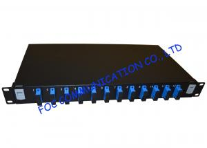 China High density Fiber Optic Patch Panel For Telecoms / fiber optic distribution panel  on sale